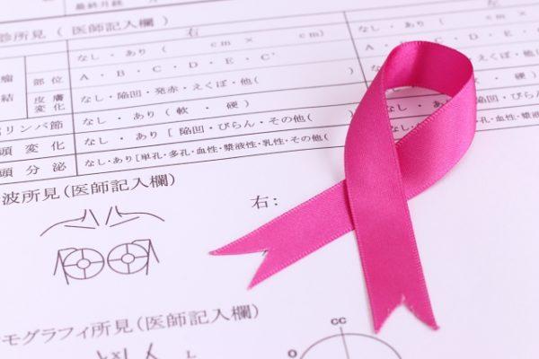 乳がん検診を受けましょうピンクリボン