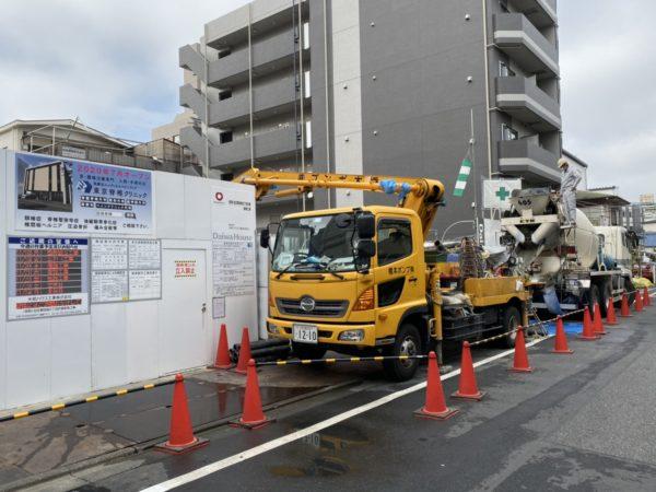 東京脊椎クリニック工事