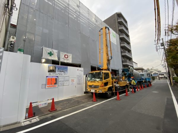 東京 脊椎 クリニック 工事