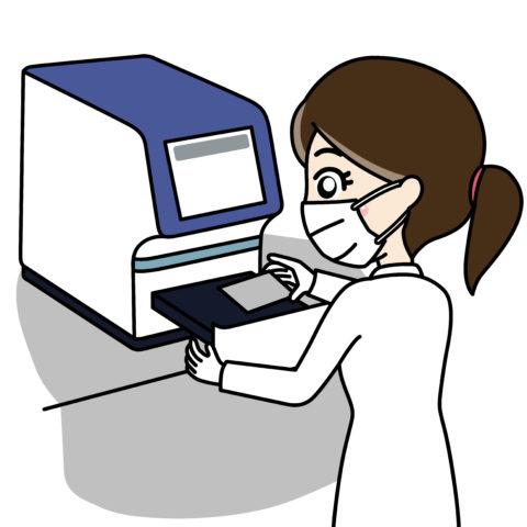 新型コロナウイルスCOVID-19PCR